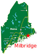 Milbridge on the Coast of Maine